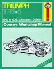 Triumph TR5 & 6 (67 - 75) Haynes Repair Manual