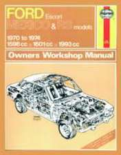 Ford Escort RS Mexico Owner's Workshop Manual