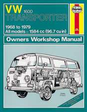 VW Transporter 1600 (68 - 79) Haynes Repair Manual