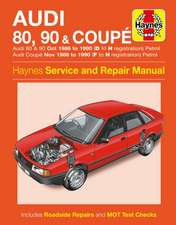 Audi 80, 90 & Coupe Owner's Workshop Manual