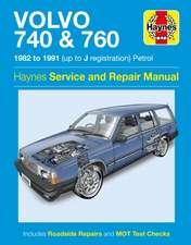 Volvo 740 & 760 Owner's Workshop Manual