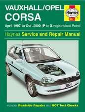 Vauxhall/Opel Corsa Petrol (Apr 97 - Oct 00) Haynes Repair Manual