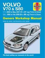 Volvo V70 / S80 Petrol & Diesel (98 - 07) Haynes Repair Manual