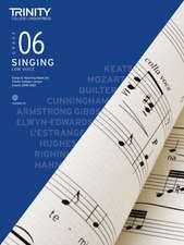 Trinity College London Singing Grade 6 Low Voice 2018-2021