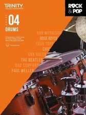 Trinity College London Rock & Pop 2018 Drums Grade 4 CD Only