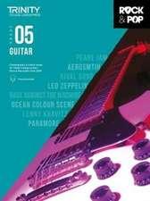 Trinity College London Rock & Pop 2018 Guitar Grade 5