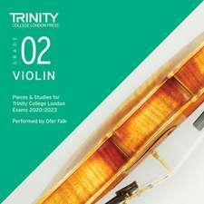 Trinity College London Violin Exam Pieces 2020-2023: Grade 2 CD
