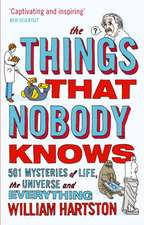 The Things That Nobody Knows