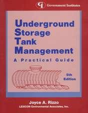 Underground Storage Tank Management