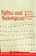 Rights and Redemption:  History, Law, and Indigenous People