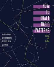 How to Draft Basic Patterns
