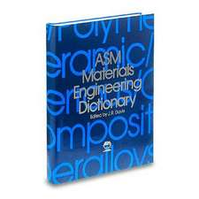 ASM Materials Engineering Dictionary
