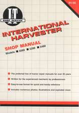 International Harvester Shop Manual Series 5088 5288 & 5488