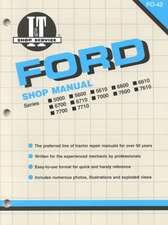 Ford Shop Manual Series 5000, 5600, 5610, 6600, 6610, 6700, 6710, 7000, 7600, 7610, 7700, 7710 (Fo-42) (I & T Shop Service)