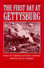 The First Day at Gettysburg:  Essays on Confederate and Union Leadership