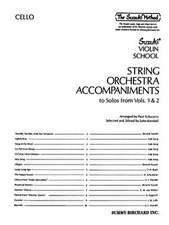 String Orchestra Accompaniments to Solos from Volumes 1 & 2:  Cello