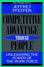 Competitive Advantage Through People:  Creating New Businesses Within the Firm