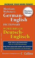 Merriam-Webster's German-English Dictionary