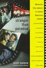 Stranger Than Paradise:  Maverick Film-Makers in Recent American Cinema
