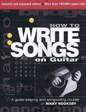 How to Write Songs on Guitar:  A History of the Rock Drum Kit