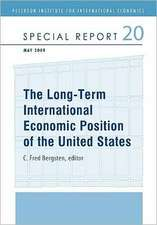The Long–Term International Economic Position of the United States