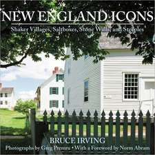 New England Icons – Shaker Villages, Saltboxes, Stone Walls and Steeples