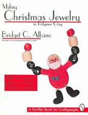 Making Christmas Jewelry in Polymer Clay