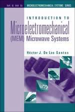 Introduction to Microelectromechanical(mem)Microwave Systems
