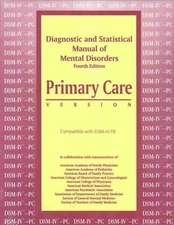 DSM-IV Primary Care