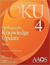 Orthopaedic Knowledge Update:  Oku