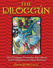 The Dilogg N:  The Orishas, Proverbs, Sacrifices, and Prohibitions of Cuban Santer a