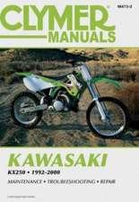 Clymer Kawasaki KX250 1992-2000