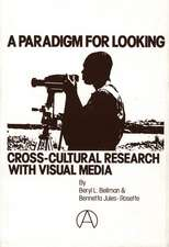 A Paradigm for Looking:  Cross-Cultural Research with Visual Media