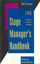The Stage Manager's Handbook