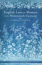 English Laws for Women in the Nineteenth Century