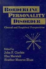 Borderline Personality Disorders