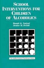 School Interventions For Children of Alcoholics Addictions