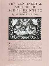 The Continental Method of Scene Painting