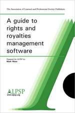 A Guide to Rights and Royalties Management Software