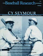 The Baseball Research Journal (BRJ), Volume 29