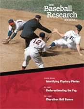 The Baseball Research Journal (BRJ), Volume 33