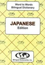 English-Japanese & Japanese-English Word-to-Word Dictionary