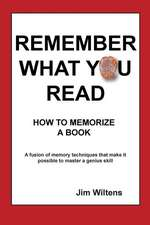 Remember What You Read