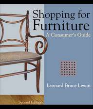 Shopping for Furniture:  A Consumer's Guide