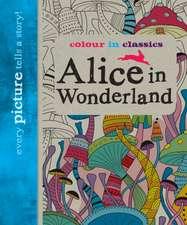 Colour in Classics: Alice in Wonderland