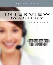 Interview Mastery Customer Service
