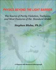 Physics Beyond the Light Barrier:  The Source of Parity Violation, Tachyons, and a Derivation of Standard Model Features