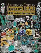 American Indian Jewelry II:  1,800 Artist Biographies