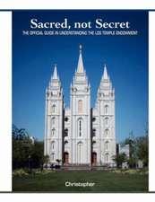 Sacred, Not Secret