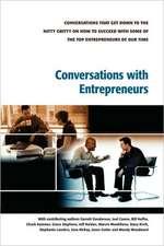 Conversations with Entrepreneurs